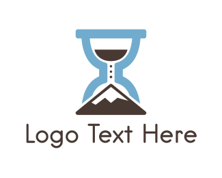 Time - Climbing Time logo design