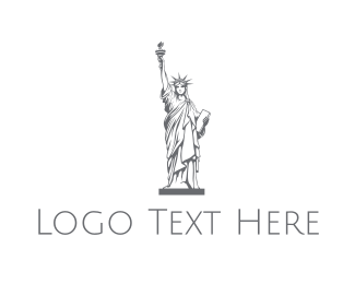Gray - Gray Lady Liberty  logo design
