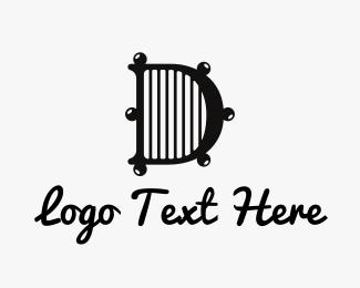 Font - Divine D logo design