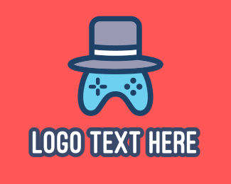Video Game - Gaming Hat logo design