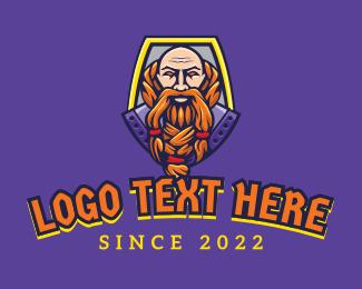 Viking - Viking Warrior Mascot logo design