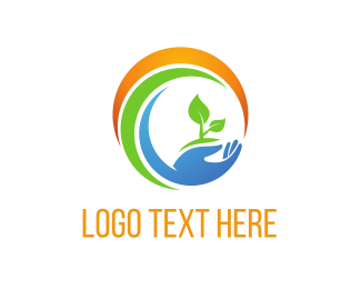 Eco Energy - Eco Circle logo design