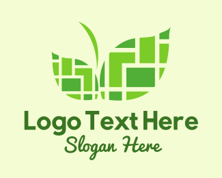 Landmark - Green City Landmark logo design