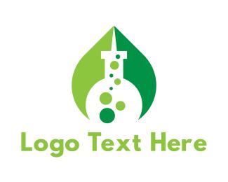Laboratory - Eco Laboratory logo design