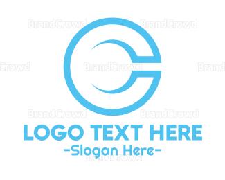 Branding - Minimalist Blue C logo design