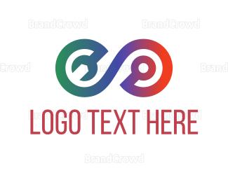 Engineering - Repair Tool Loop logo design