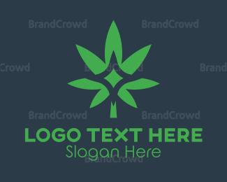 Sparkling - Sparkling Cannabis logo design