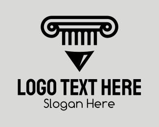 Literacy - Educational Library Pen logo design