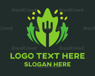 Food Blog - Fork & Salad logo design