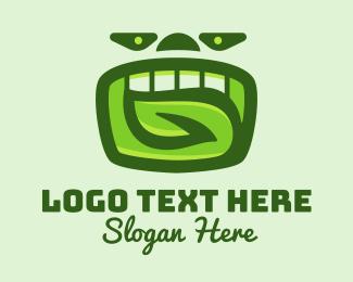 Nose - Green Organic Dental logo design