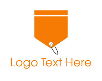 Tag - Orange Tag logo design