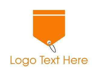 Orange And White - Orange Tag logo design