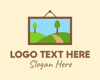 Frame - Environmental Picture Frame logo design
