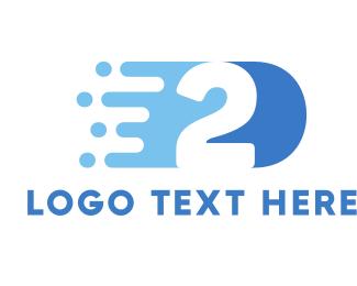 Sprint - Fast Number 2 logo design