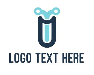 Wire - Tech Lab logo design