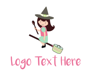 Artisan - The Kitchen Witch logo design