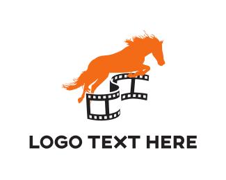 Horse Racing - Horse Film logo design
