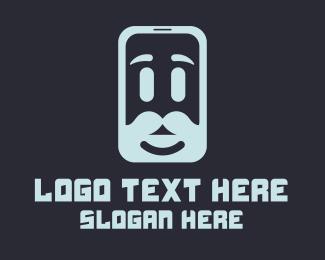 Mobile App - Men Mobile App logo design