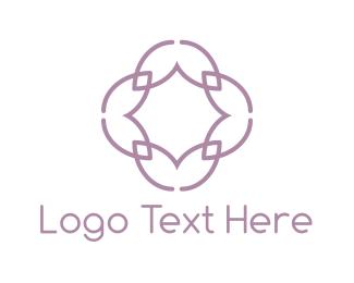 Facebook - Lilac Flower logo design