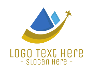Travel - Pyramid Travel logo design