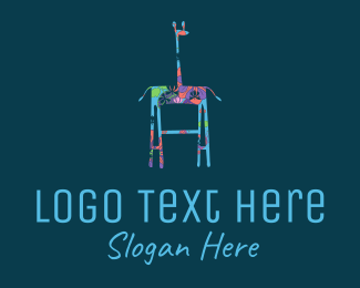 Gallery - Floral Giraffe logo design
