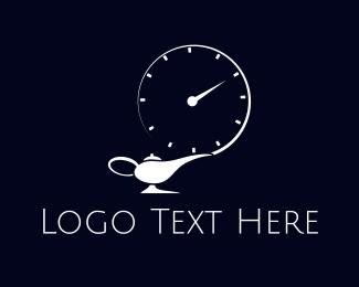 Magic - Genie Time logo design