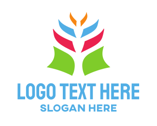 Tropical - Tropical Flower logo design