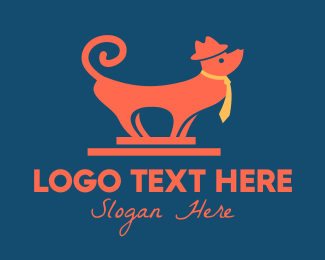 Doggy - Tourist Dog logo design