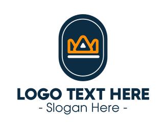 Badge - Crown Badge Business Company logo design