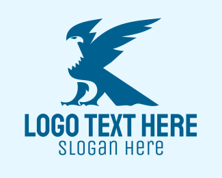 Airline - Blue Eagle Aviation logo design