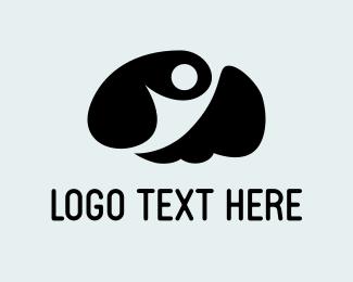 Intelligent - Smart Person logo design