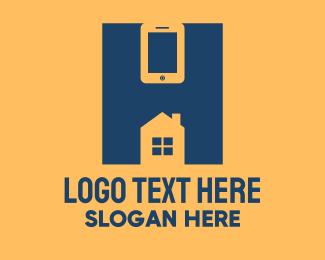 Tiny Home - Mobile Home Service logo design