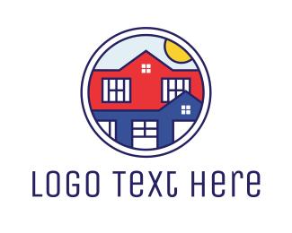 Windows - City Circle logo design