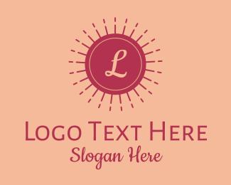 Brand - Dainty Beauty Brand Letter logo design