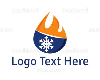 Chill - Hot & Cold  logo design