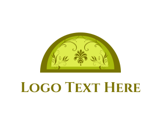 Window - Floral Window logo design
