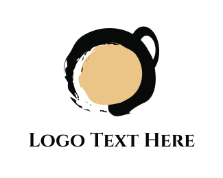 Latte - Zen Coffee logo design