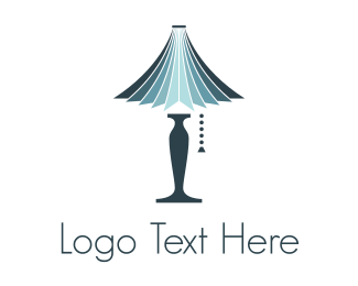 Room - Blue Lamp logo design