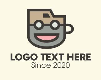 Mascot - Coffee Delivery Van logo design