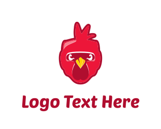 Chicken - Red Chicken logo design