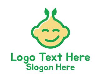 Pregnancy - Nature Happy Baby logo design