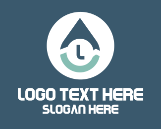 Modern - Modern Water Drop Letter logo design