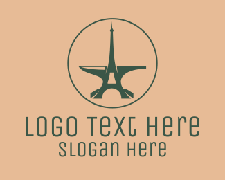 Steelwork - Parisian Anvil Emblem logo design