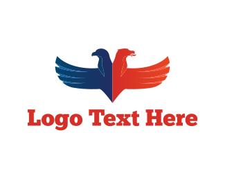 Patriotic - American Eagles logo design