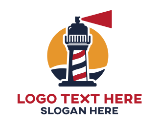 Lighthouse Barbershop Logo