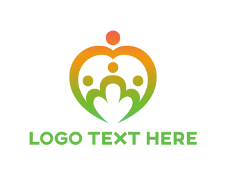 Childcare - Family Group logo design