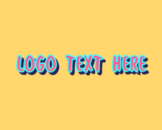Street Art - Graffiti Art Wordmark logo design