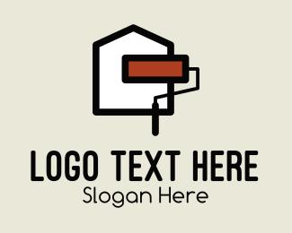Paint - House Paint logo design