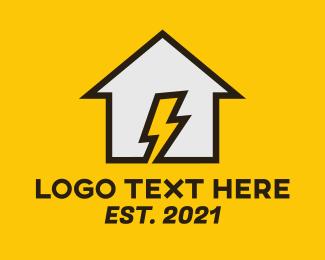 Electrical - Home Electricity logo design