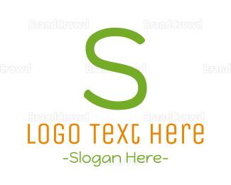 Babysitting - Preschool Letter S logo design